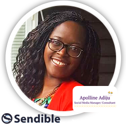 Social Media Interview: Apolline at the ApollineAdiju Marketing Agency