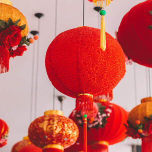 celebrate chinese new year - photo by Humphrey Muleba via unsplash
