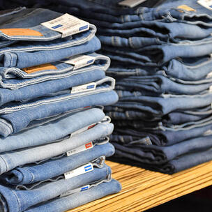 celebrate denim day - photo by Waldemar Brandt via unsplash