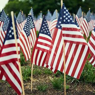 celebrate memorial day - photo by Valentino Funghi via unsplash