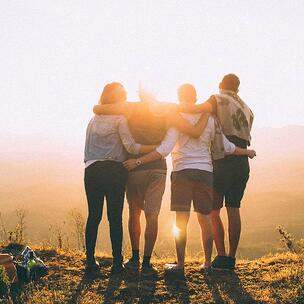 celebrate Friendship Month - photo by Helena Lopes via Unsplash