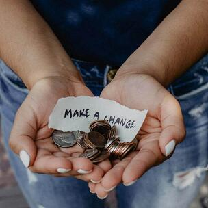 Make a change on International Charity Day - photo by Kat Yukawa via Unsplash