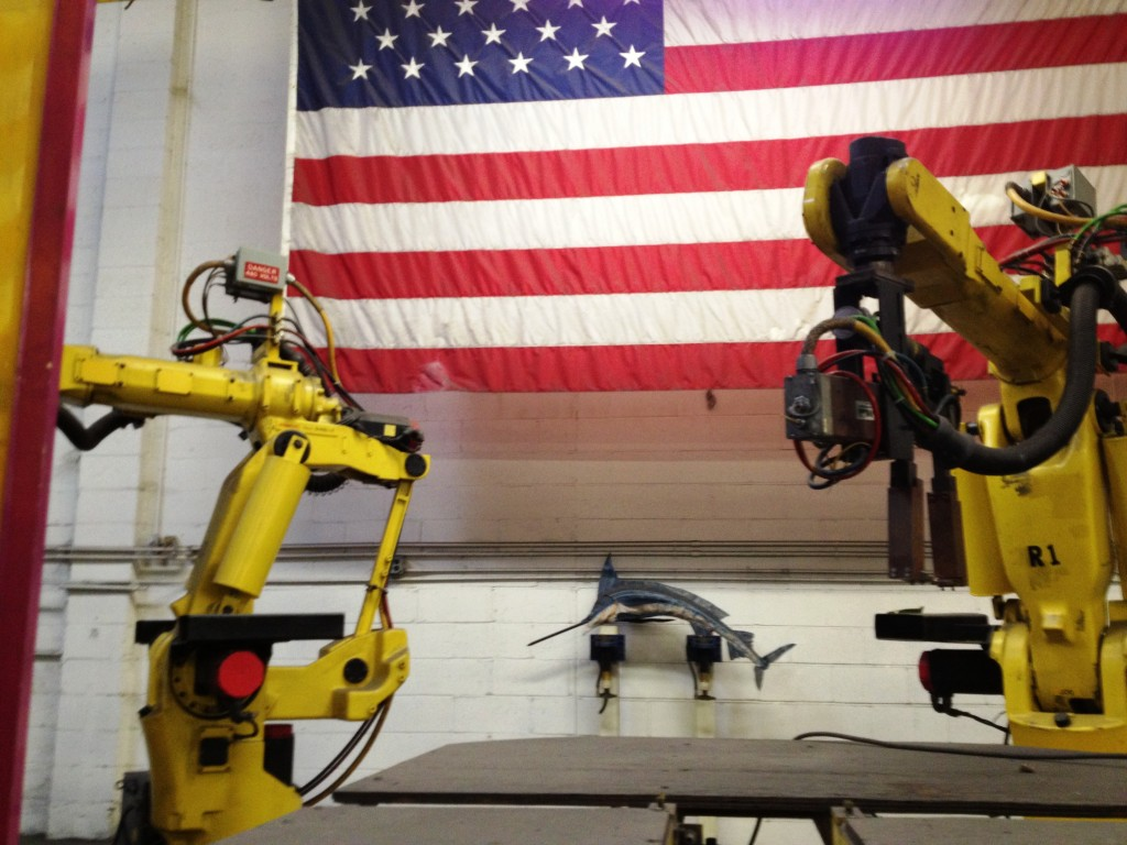 American manufacturing is halfway to goal of doubling exports