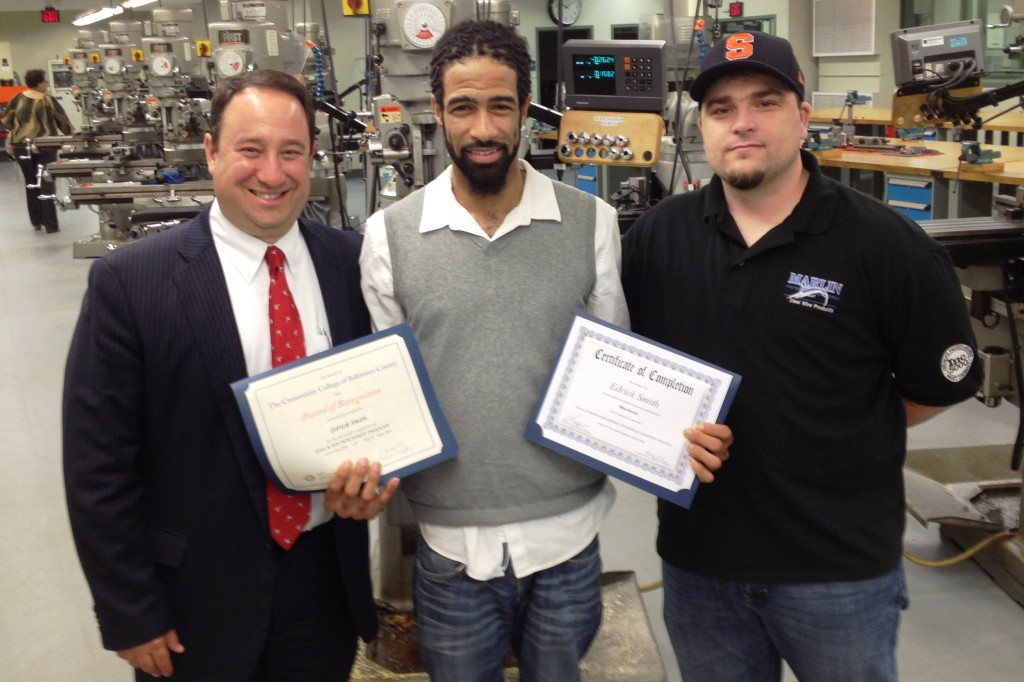 Promising Future for Metalworking Graduates in Baltimore, but ..