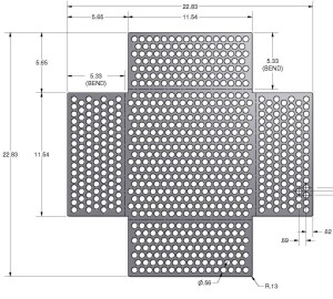 What Are the Limitations of Open Area When Making a Perforated Metal Pattern?
