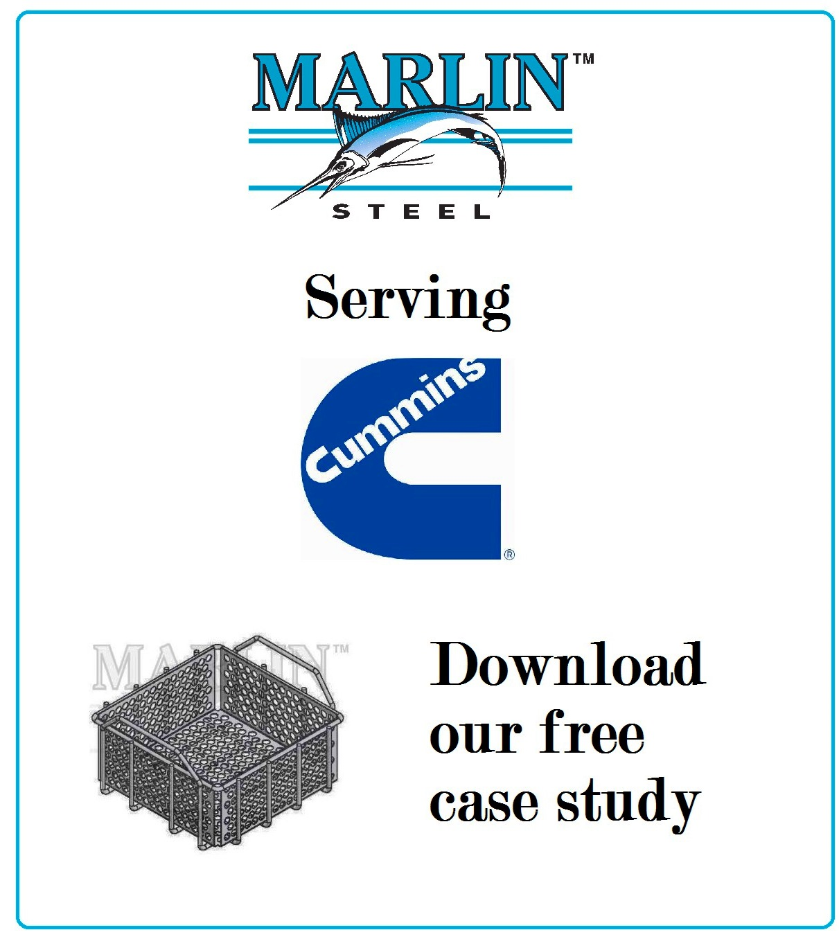 A Marlin Steel Case Study: Baskets for Cummins