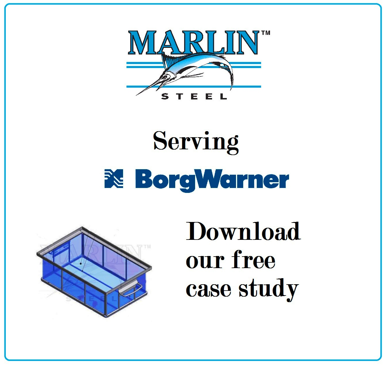 A Marlin Steel Case Study: Baskets for BorgWarner