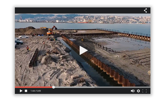 This Huge Construction Project is Surveyed by Drones - Without Human Pilots