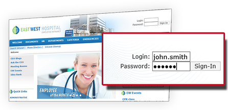 Utilizing Active Directory for Hospital Intranet User Authentication