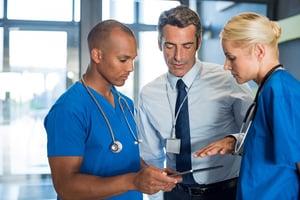 healthcare IT explaining software