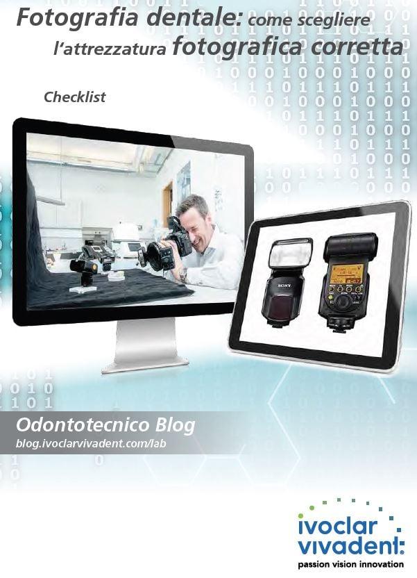 Checklist: Fotografia dentale