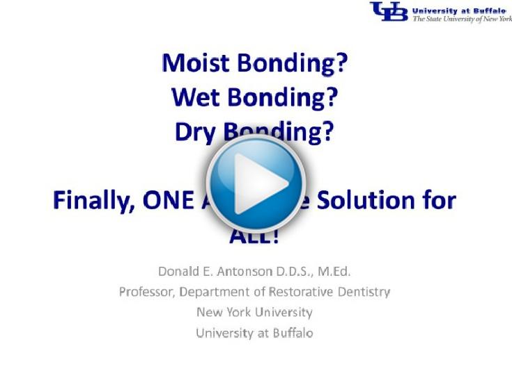 Wet Bonding Dilemma Now Solved!