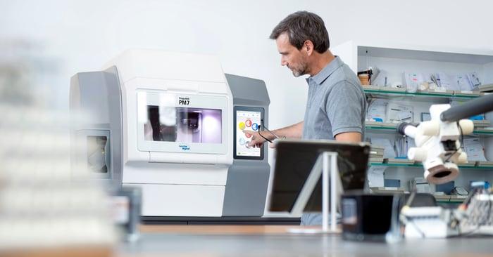 CAD/CAM-Fräsmaschine: möglichst effizient zum Ziel