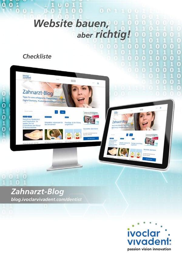 Checkliste: Website bauen, aber richtig