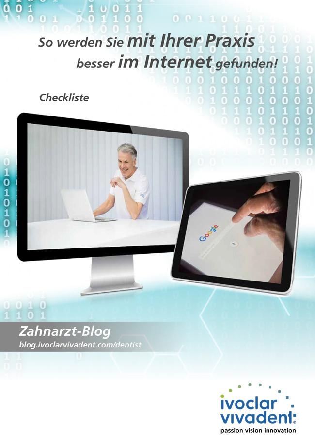 Checkliste: Praxismarketing im Internet