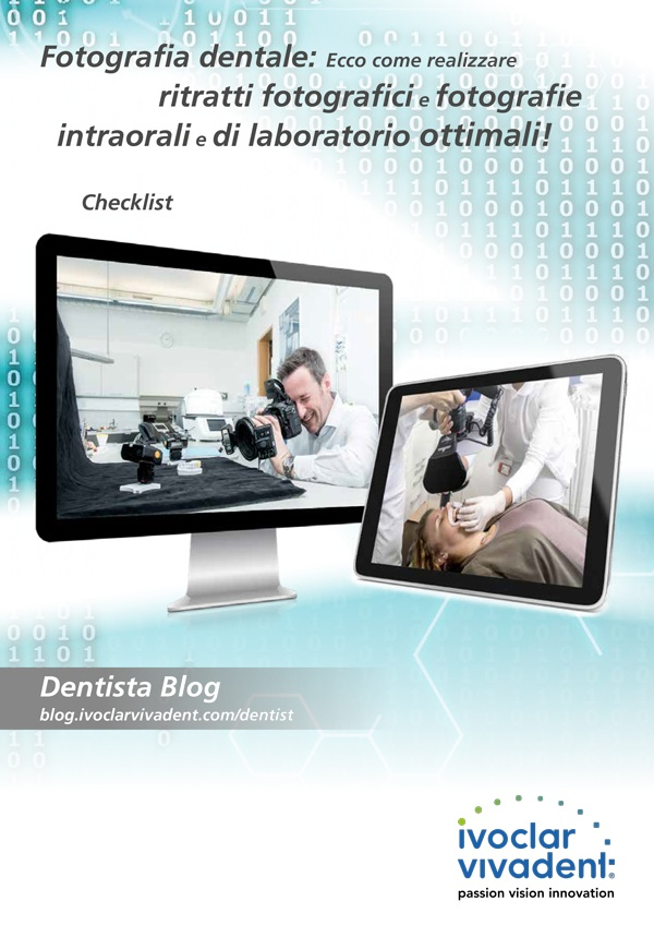 Fotografia dentale: ritratti fotografici e fotografie intraorali e di laboratorio ottimali