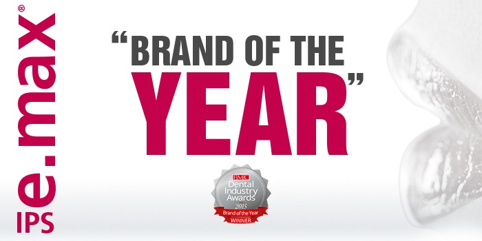 IPS e.max wins Brand of the Year in the UK