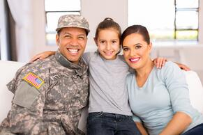 Tiwtter Military Family Image