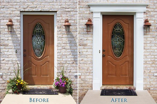 How To Fit Your Polyurethane Entrance System Around Your Door