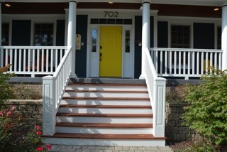 How much does it cost to replace polyurethane porch railings for Exterior polyurethane for decks