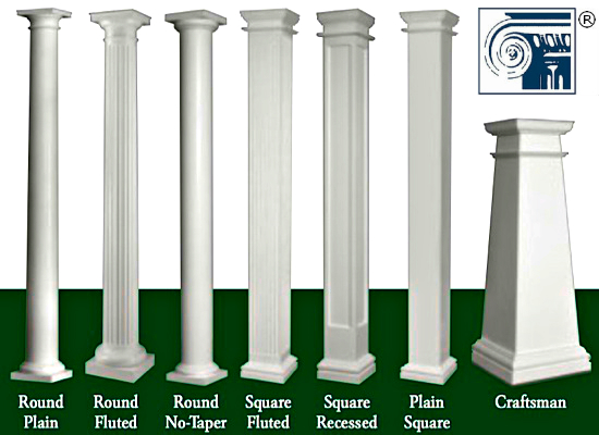 Benefits of using fiberglass porch columns for Decorative fiberglass columns
