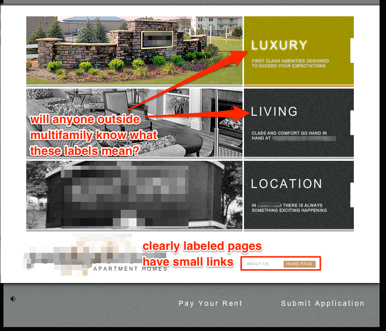 Apt Websites: 5 Common UX Mistakes On Apartment Websites