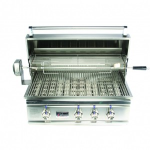 TRL 38 stainless steel grill