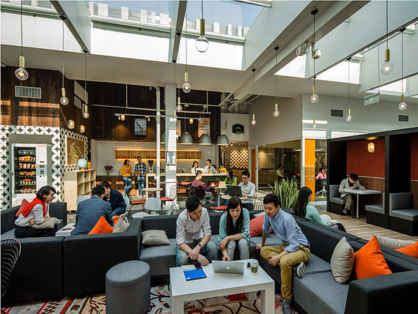 office space, positive environment, employee experience