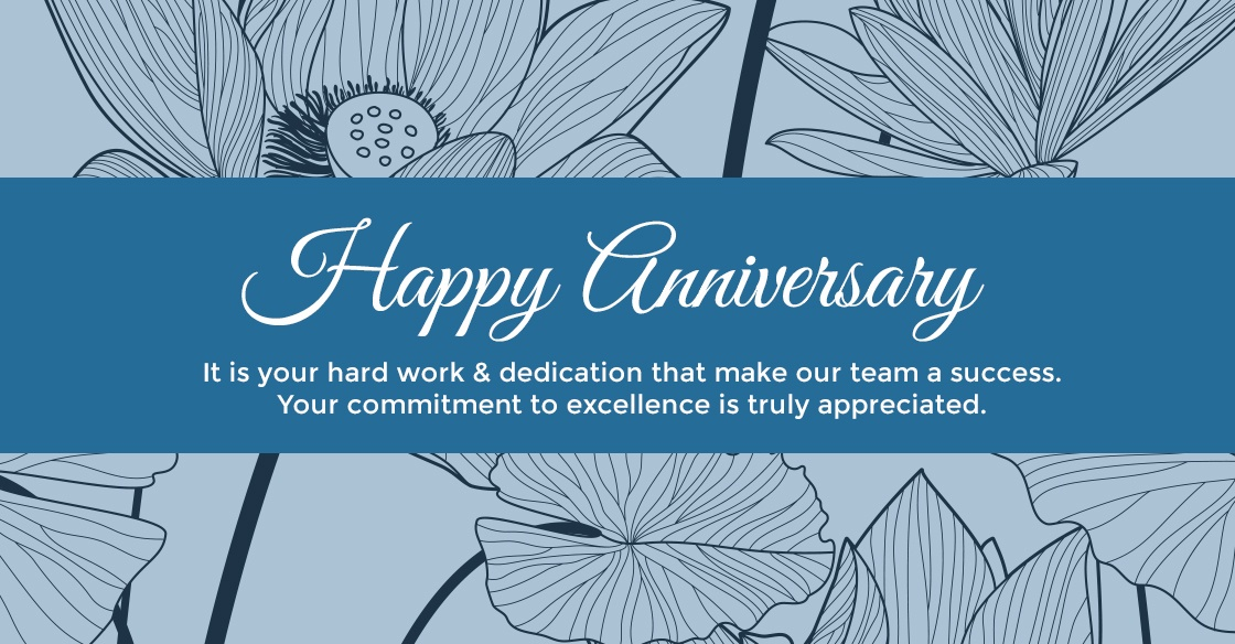 Happy Anniversary from Group Dynamics