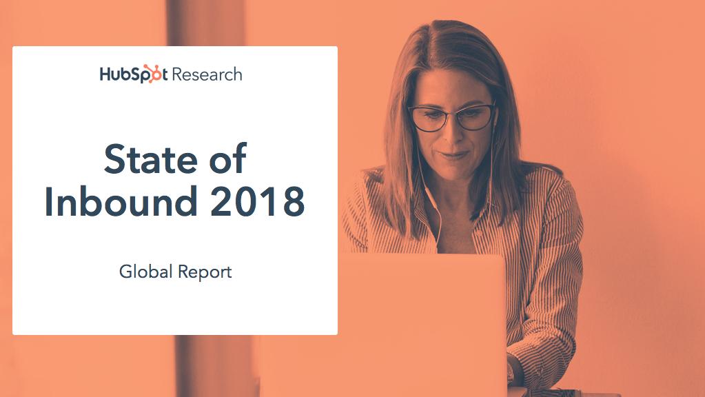 Hubspot State of Inbound 2018