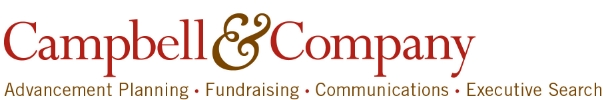 Campbell & Company: Advanced Planning, Fundraising, Communications, and Executive Search