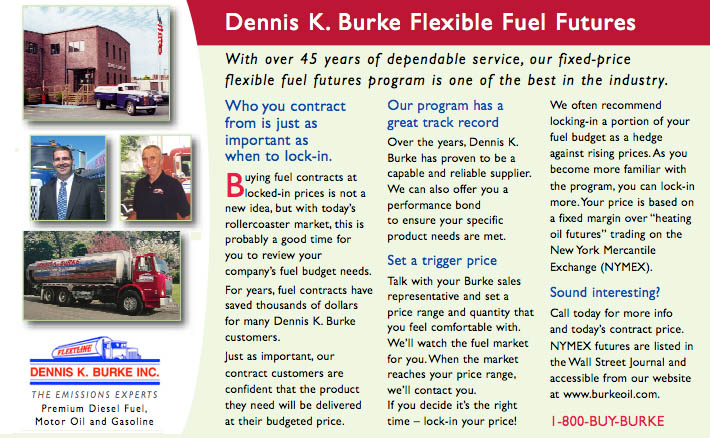 Dennis K. Burke Flexible Fuel Futures