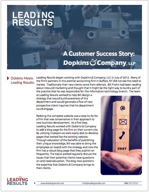 Dopkins Case Study Cover