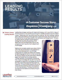 Dopkins Case Study Cover