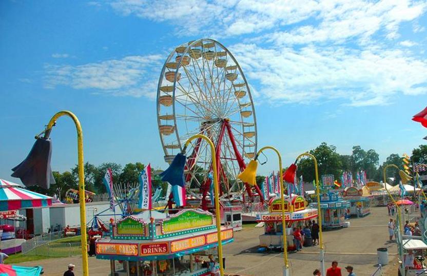Ionia County Free Fair in Michigan