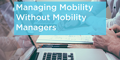 Managing Mobility Without Mobility Managers