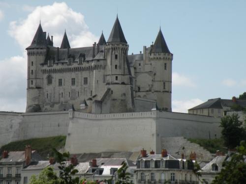 Chateau de Saumur - French limestone tuffeau