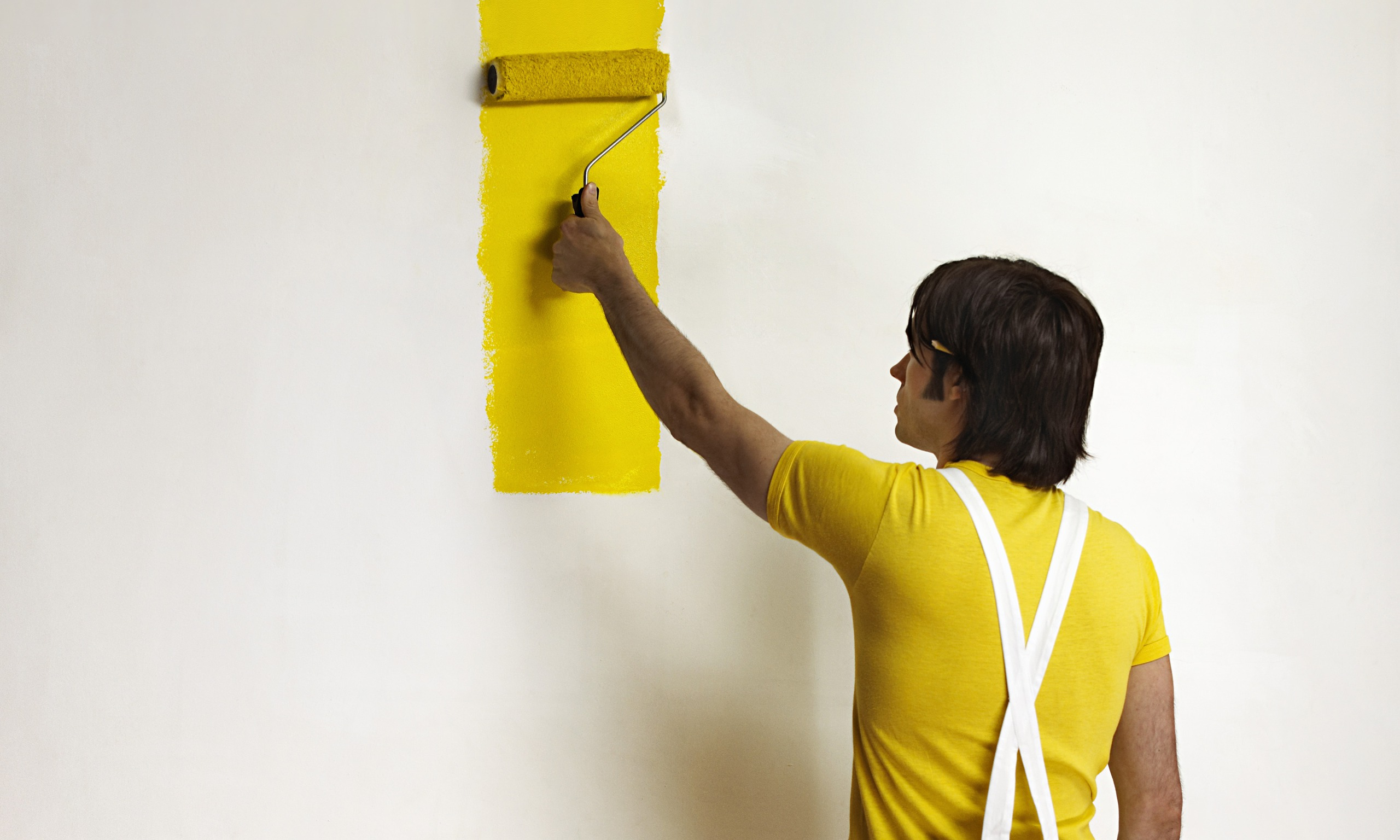 Preventative maintenance software means less painting A wall painting