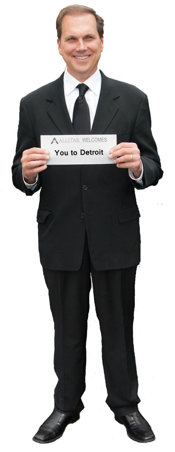 Chauffeur Detroit Airport