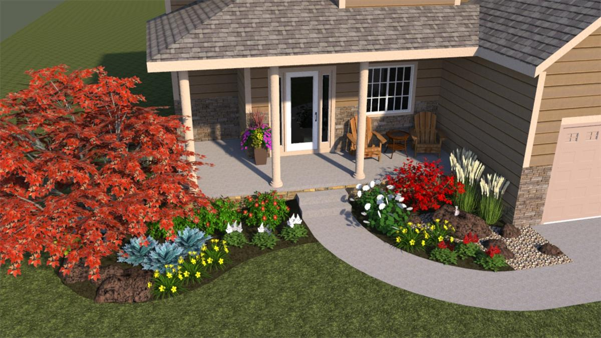 Fascinating Front Entry Landscaping Ideas Ideas Plan 3d House