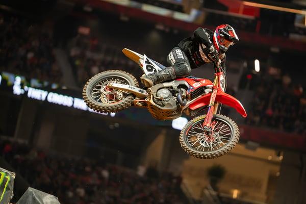 Justin Hill Atlanta Supercross - Credit Smartop Bullfrog Spas MotoConcepts Honda
