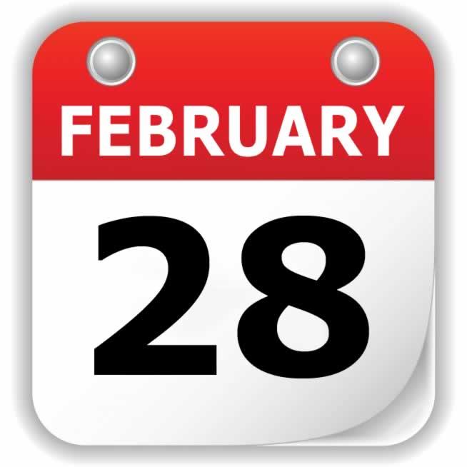 February 28