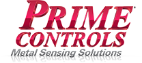 Prime Controls Logo in the Footer