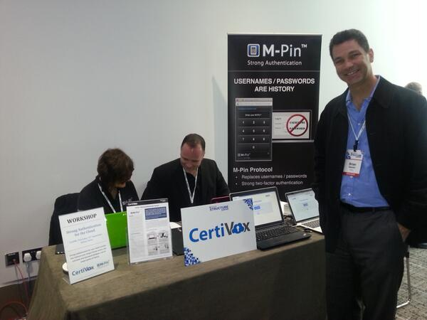 CertiVox at GiGaOM Structure: Europe 2013