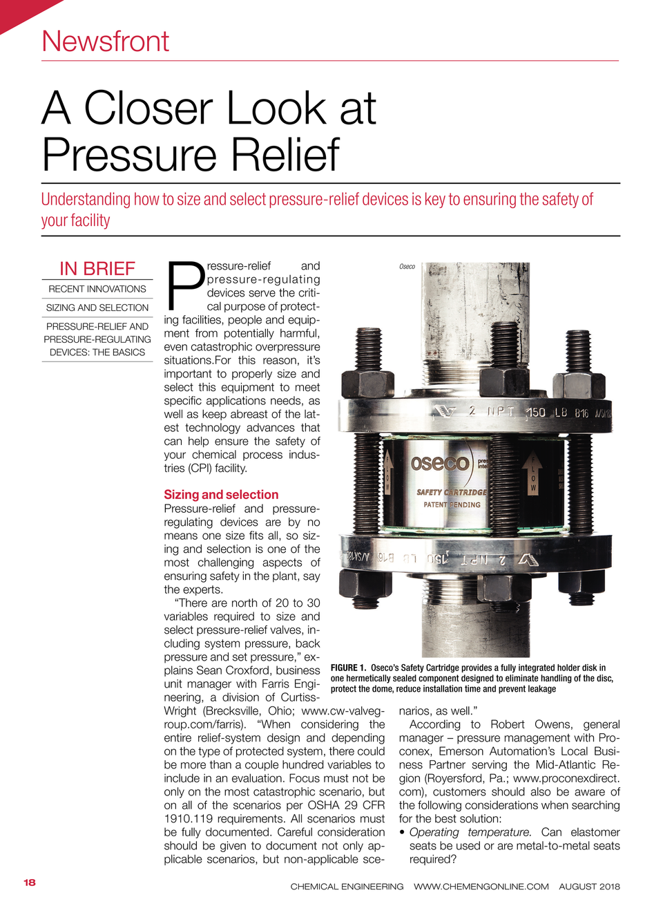 Page 1 - Closer Look at Pressure Relief Design