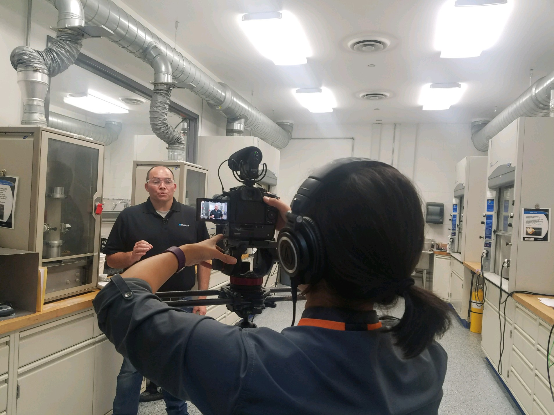 Combustible Dust Testing Lab Video