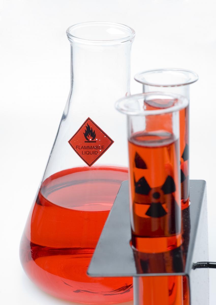 Flammable Liquids Beakers