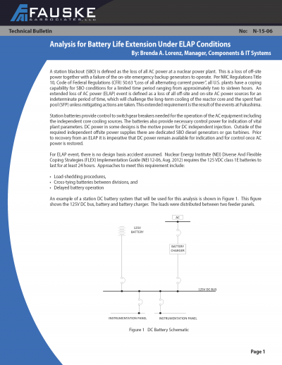 N-15-06 Analysis for Battery Life Extension Under ELAP Conditions_Page_1_0.png