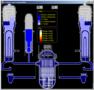 MAAP Services and PWR RCS Coolant Loop View
