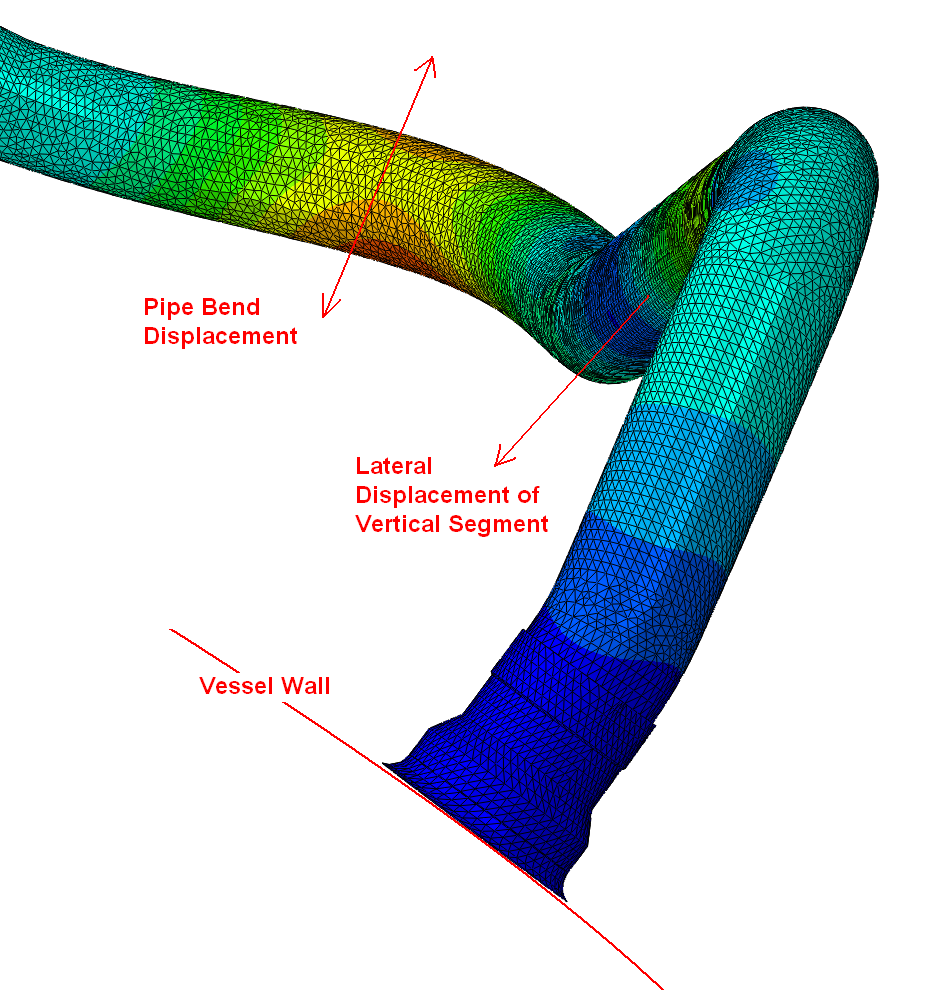 Numerical Modal Analysis of a BWR Main Steam Pipe